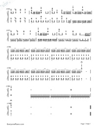 Kimi mo Warui Hito de Yokatta-Hatsune Miku-Numbered-Musical-Notation-Preview-7
