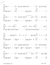 月の明り-最終幻想Ⅳ背景音樂雙手簡譜預覽2