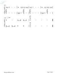 月の明り-最終幻想Ⅳ背景音樂雙手簡譜預覽5