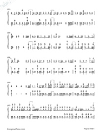 All Falls Down-Alan Walker-Numbered-Musical-Notation-Preview-2
