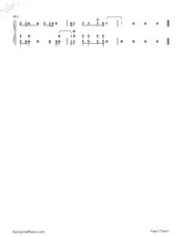All Falls Down-Alan Walker-Numbered-Musical-Notation-Preview-5