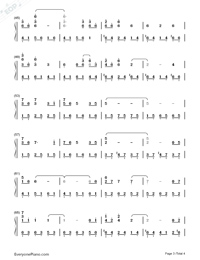 With the Wind-Yiruma-Numbered-Musical-Notation-Preview-3