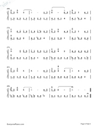 With the Wind-Yiruma-Numbered-Musical-Notation-Preview-4