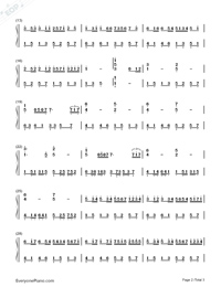 Qinguang's Canon-Adapted Version-Numbered-Musical-Notation-Preview-2