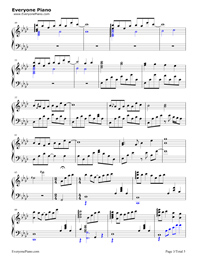 Dango Daikazoku Clannad Main Theme Free Piano Sheet Music Piano