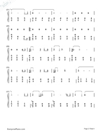 Dragon Roost Island-The Legend of Zelda: The Wind Waker OST-Numbered-Musical-Notation-Preview-2