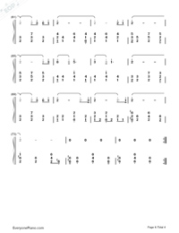 Dragon Roost Island-The Legend of Zelda: The Wind Waker OST-Numbered-Musical-Notation-Preview-4