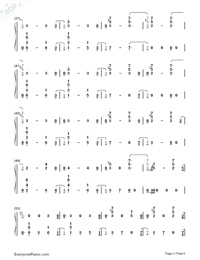 Nothing Left for You-Sam Smith-Numbered-Musical-Notation-Preview-3