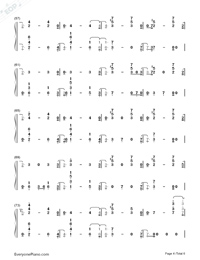 Nothing Left for You-Sam Smith-Numbered-Musical-Notation-Preview-4