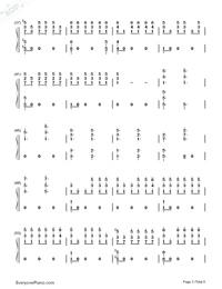 One Last Song-Sam Smith両手略譜プレビュー3