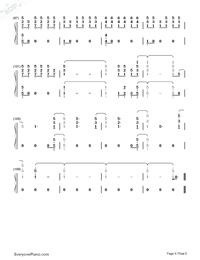 One Last Song-Sam Smith両手略譜プレビュー6