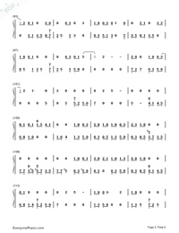 Say It First-Sam Smith-Numbered-Musical-Notation-Preview-5