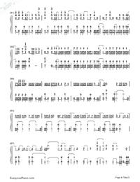 Sora ni Utaeba-My Hero Academia op Numbered Musical Notation Preview 4