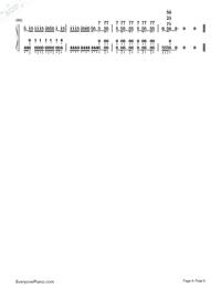 Sora ni Utaeba-My Hero Academia op Numbered Musical Notation Preview 6