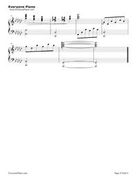 Un Blanc Jour D Un Chaton-Richard Clayderman Stave Preview 4