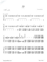 Gekka-Nano Ripe-Numbered-Musical-Notation-Preview-1