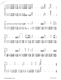 Gekka-Nano Ripe-Numbered-Musical-Notation-Preview-2