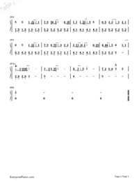 Man on The Moon-Eason Chan-Numbered-Musical-Notation-Preview-3