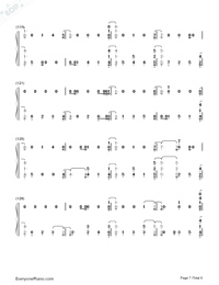 Dancing With Our Hands Tied-Taylor Swift-Numbered-Musical-Notation-Preview-7