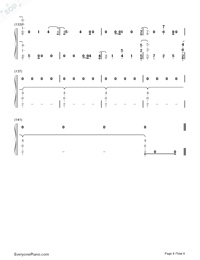 Dancing With Our Hands Tied-Taylor Swift-Numbered-Musical-Notation-Preview-8