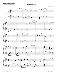Ribbonized-Yiruma Stave Preview 1