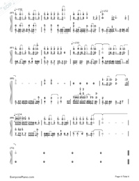 Break Up-Digimon Adventure 02 OST-Numbered-Musical-Notation-Preview-4