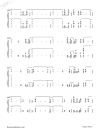 Out Of My Head-Charli XCX-Numbered-Musical-Notation-Preview-4