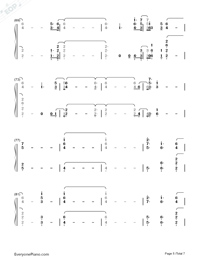Out Of My Head-Charli XCX-Numbered-Musical-Notation-Preview-5
