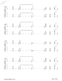 Out Of My Head-Charli XCX-Numbered-Musical-Notation-Preview-6