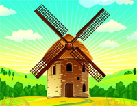 Town of Windmill-a_hisa