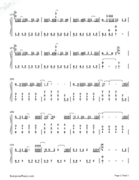 Be Graceful-Perfect Version Numbered Musical Notation Preview 2
