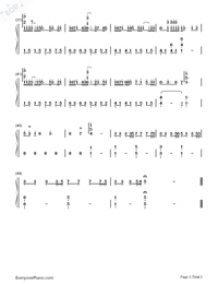Be Graceful-Perfect Version-Numbered-Musical-Notation-Preview-3