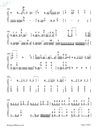 Break Up-Perfect Version Numbered Musical Notation Preview 4