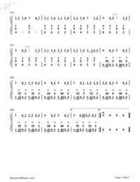 Panama-Matteo Numbered Musical Notation Preview 2