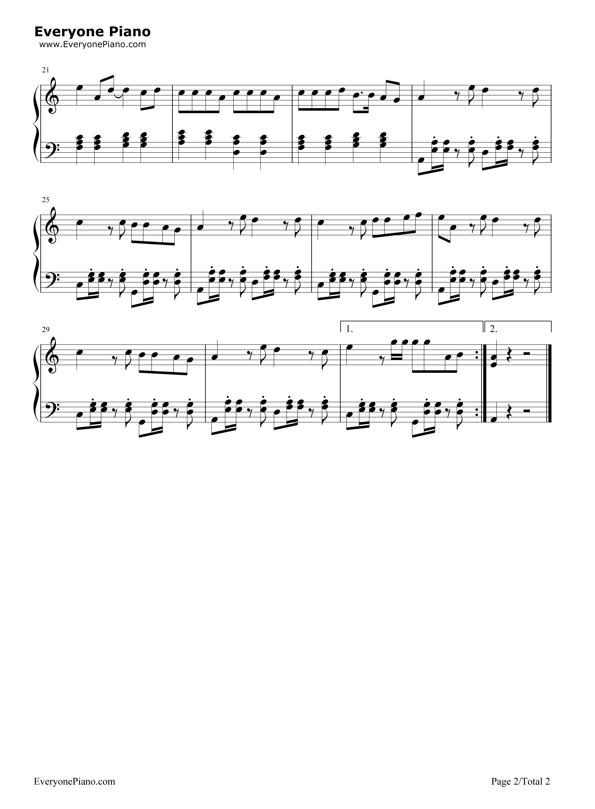 Panama matteo stave preview 2 free piano sheet music piano chords listen now print sheet panama matteo stave preview 2 hexwebz Gallery