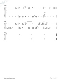 Wu Wen-Forever Young Theme Song-Numbered-Musical-Notation-Preview-4
