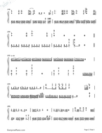 A Train in Fog-Li Jian and Wang Junkai-Numbered-Musical-Notation-Preview-2