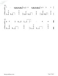 空空如也-胡66雙手簡譜預覽4