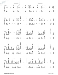 I Know You-Craig David ft Bastille-Numbered-Musical-Notation-Preview-2