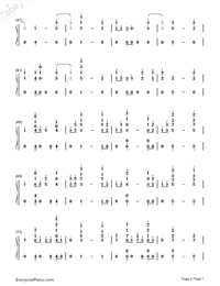 I Know You-Craig David ft Bastille-Numbered-Musical-Notation-Preview-4