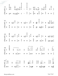 I Know You-Craig David ft Bastille-Numbered-Musical-Notation-Preview-5