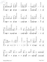 I Know You-Craig David ft Bastille-Numbered-Musical-Notation-Preview-6