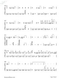 Love-Karen Mok-Numbered-Musical-Notation-Preview-3