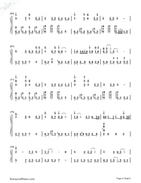 Love-Karen Mok-Numbered-Musical-Notation-Preview-4