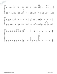 Love-Karen Mok-Numbered-Musical-Notation-Preview-5