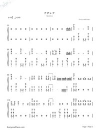Azalea-Citrus OP-Numbered-Musical-Notation-Preview-1
