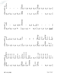 Remember Me-Perfect Version-Numbered-Musical-Notation-Preview-3