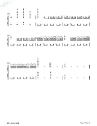 Remember Me-Perfect Version-Numbered-Musical-Notation-Preview-5