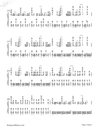 Acedia-Hatsune Miku-Numbered-Musical-Notation-Preview-2