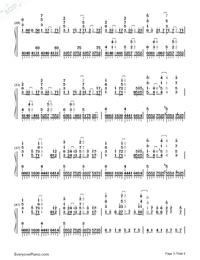 Acedia-Hatsune Miku-Numbered-Musical-Notation-Preview-3